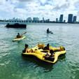 26 ft. Beachcat Boats 26 Family Cat Catamaran Boat Rental Miami Image 15