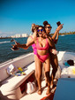 26 ft. Bayliner 2659 Rendezvous Bow Rider Boat Rental Miami Image 20