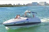 37 ft. Four Winns Vista 37 Pontoon Boat Rental Miami Image 1