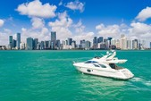 55 ft. Azimut Yachts 55 Flybridge Boat Rental Miami Image 2