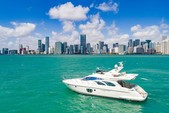 55 ft. Azimut Yachts 55 Flybridge Boat Rental Miami Image 3