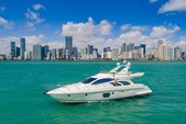 55 ft. Azimut Yachts 55 Flybridge Boat Rental Miami Image 8