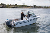 22 ft. Grady-White Boats 220 Bimini Cuddy Cabin Boat Rental Boston Image 4