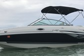 27 ft. Monterey Boats 253 Bow Rider Boat Rental Miami Image 12