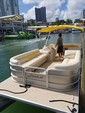 24 ft. Other 2486 Pontoon Boat Pontoon Boat Rental Miami Image 1