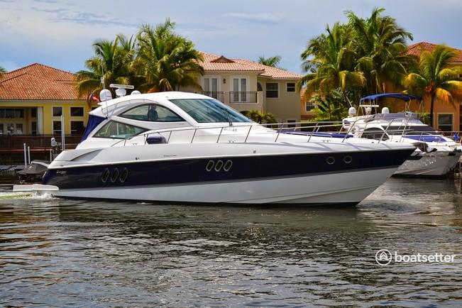 Rent a Cruisers motor yacht in Pompano Beach, FL near me