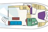 40 ft. Mainship 390 Trawler Trawler Boat Rental Tampa Image 6