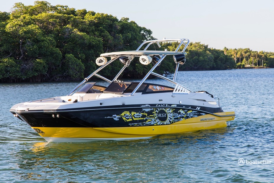 Rent a Monterey Boats ski and_wakeboard in Miami, FL near me