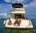 45 ft. Sea Ray Boats 44 Sedan Bridge Cruiser Boat Rental Miami Image 20
