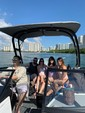 19 ft. Yamaha AR190  Bow Rider Boat Rental Miami Image 9