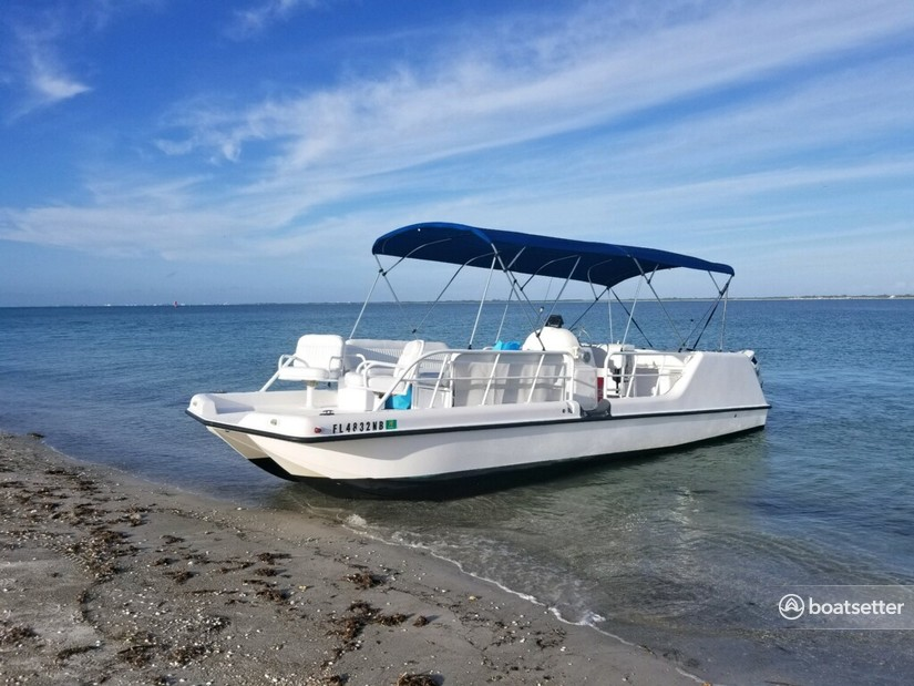 Rent a MTX Marine catamaran in Saint Petersburg, FL near me