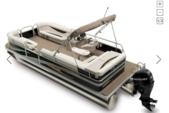 23 ft. Princecraft Sportfisher 23 Pontoon Boat Rental Sarasota Image 4