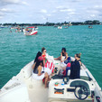 26 ft. Bayliner 2659 Rendezvous Bow Rider Boat Rental Miami Image 43