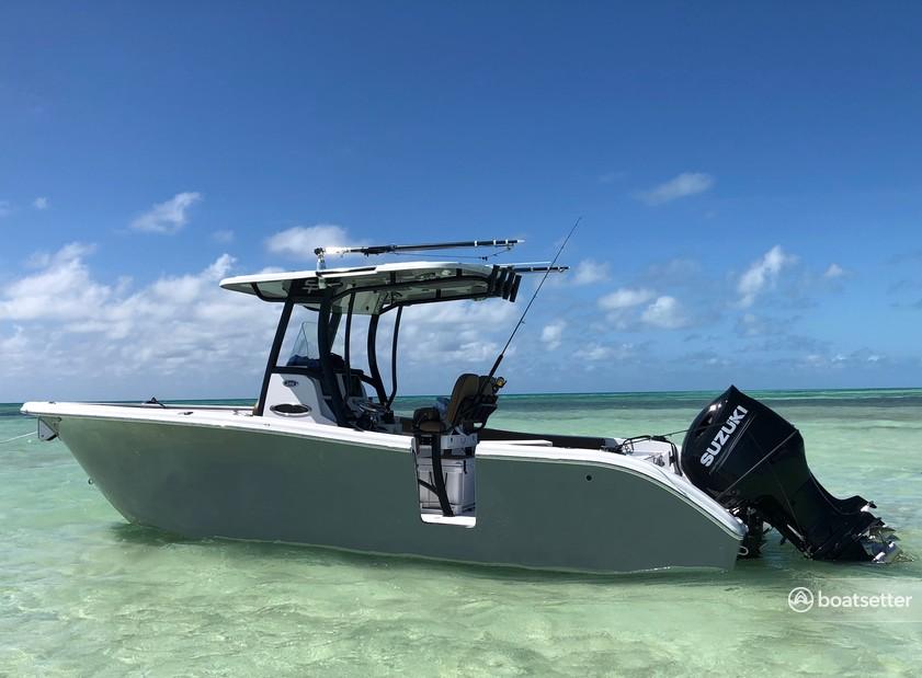 Rent a Sea Pro Boats center console in Plantation, FL near me