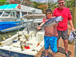 31 ft. Bertram Yacht 31 Bahia Mar Offshore Sport Fishing Boat Rental Marigot Bay Image 3