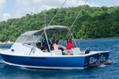 31 ft. Bertram Yacht 31 Bahia Mar Offshore Sport Fishing Boat Rental Marigot Bay Image 5