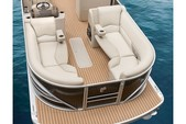23 ft. Vectra Pontoon Cruiser Boat Rental Austin Image 4