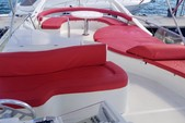 60 ft. Ferretti Flybridge Motor Yacht Boat Rental Miami Image 6