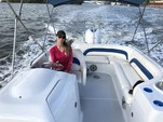 24 ft. Hurricane Boats FD 232 Bow Rider Boat Rental Miami Image 3