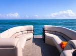 22 ft. Misty Harbor 2285CS Biscayne Bay Pontoon Boat Rental Miami Image 8