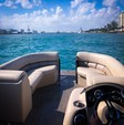 22 ft. Misty Harbor 2285CS Biscayne Bay Pontoon Boat Rental Miami Image 6