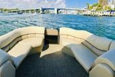 22 ft. Misty Harbor 2285CS Biscayne Bay Pontoon Boat Rental Miami Image 3