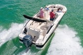 24 ft. Hurricane Boats SD 2400 Deck Boat Boat Rental Tampa Image 24