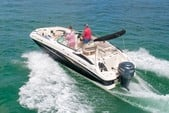 24 ft. Hurricane Boats SD 2400 Deck Boat Boat Rental Tampa Image 2
