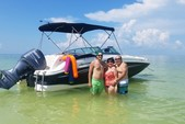 24 ft. Hurricane Boats SD 2400 Deck Boat Boat Rental Tampa Image 38