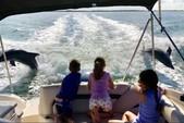 24 ft. Hurricane Boats SD 2400 Deck Boat Boat Rental Tampa Image 3