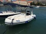18 ft. Maestral 555 RIB Inflatable Outboard Boat Rental Općina Trogir Image 1