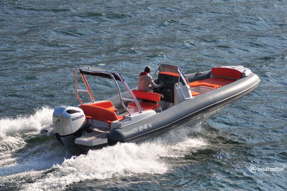 Rent a Marlin RIBS inflatable outboard in Općina Trogir, Splitsko-dalmatinska županija near me