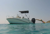 20 ft. Quicksilver by Mercury Marine Activ 605 Open Walkaround Boat Rental Općina Trogir Image 1