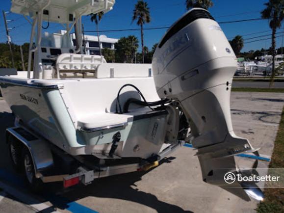 Rent a Sea Born Boats center console in Cortez, FL near me