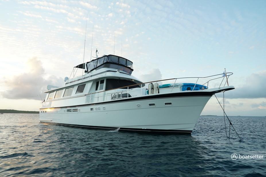 Rent a Hatteras Yachts motor yacht in Stuart, FL near me