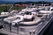 27 ft. Crest silver Pontoons 27' Cruiser Boat Rental Rest of Southwest Image 3