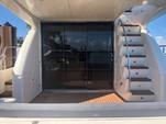 "55 ft. 55"" Uniessee Flybridge Boat Rental Miami Image 4"