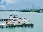 "55 ft. 55"" Uniessee Flybridge Boat Rental Miami Image 2"