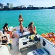 26 ft. Bayliner 2659 Rendezvous Bow Rider Boat Rental Miami Image 3