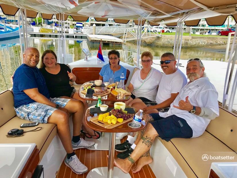 Rent a Duffy Electric Boats electric in Honolulu, HI near me