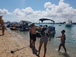 21 ft. Sun Tracker 21 Party Barge Pontoon Boat Rental Miami Image 15