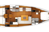 41 ft. Jeanneau Sailboats 41 Sloop Boat Rental Marsh Harbour Image 8