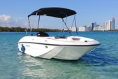 16 ft. Bayliner Element 4-S Mercury  Cruiser Boat Rental Miami Image 2