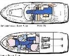 51 ft. Sea Ray Boats 480 Sedan Bridge Motor Yacht Boat Rental West FL Panhandle Image 5