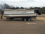 22 ft. Sun Tracker by Tracker Marine Party Barge 22 DLX w/115ELPT 4-S Pontoon Boat Rental Rest of Southeast Image 1