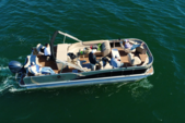 25 ft. Avalon Pontoons 24' Windjammer Quad Fish Pontoon Boat Rental East FL Panhandle  Image 8