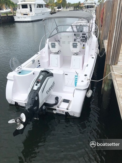 Rent a Pro-Line Boats express cruiser in Lighthouse Point, FL near me