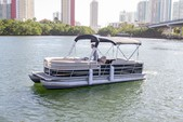 "22 ft. 24"" Bentley Pontoon Boat Pontoon Boat Rental Miami Image 6"