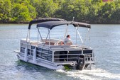 "22 ft. 24"" Bentley Pontoon Boat Pontoon Boat Rental Miami Image 7"