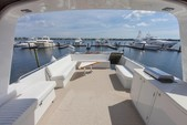 67 ft. Hatteras Yachts 67 Cockpit Motor Yacht Motor Yacht Boat Rental Miami Image 9